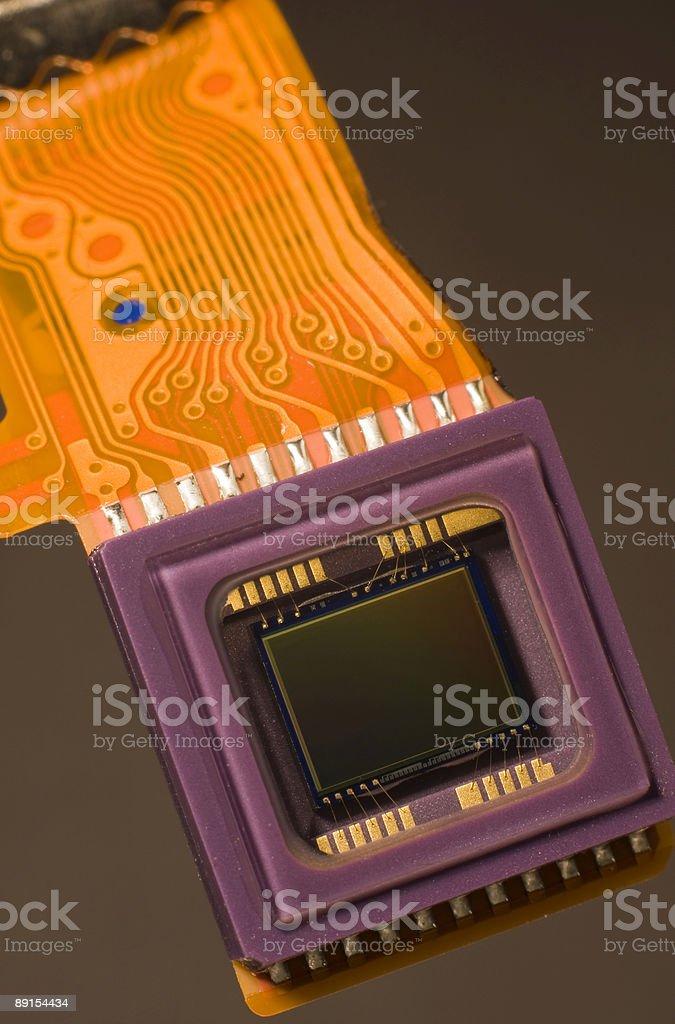 Digital Sensor and Circuit royalty-free stock photo
