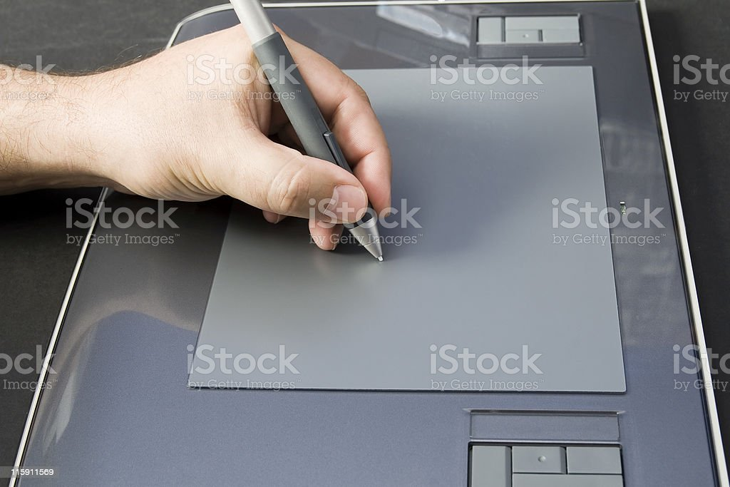 digital signature royalty-free stock photo