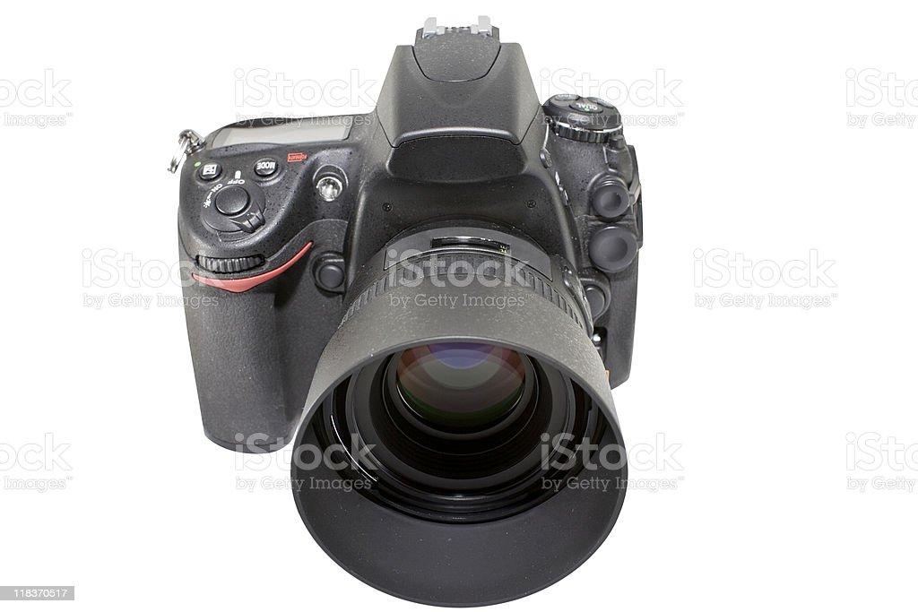 Digital SLR Camera royalty-free stock photo