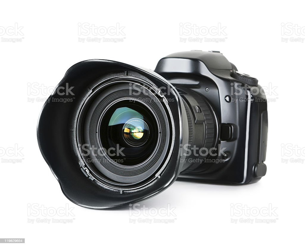 digital SLR Camera stock photo