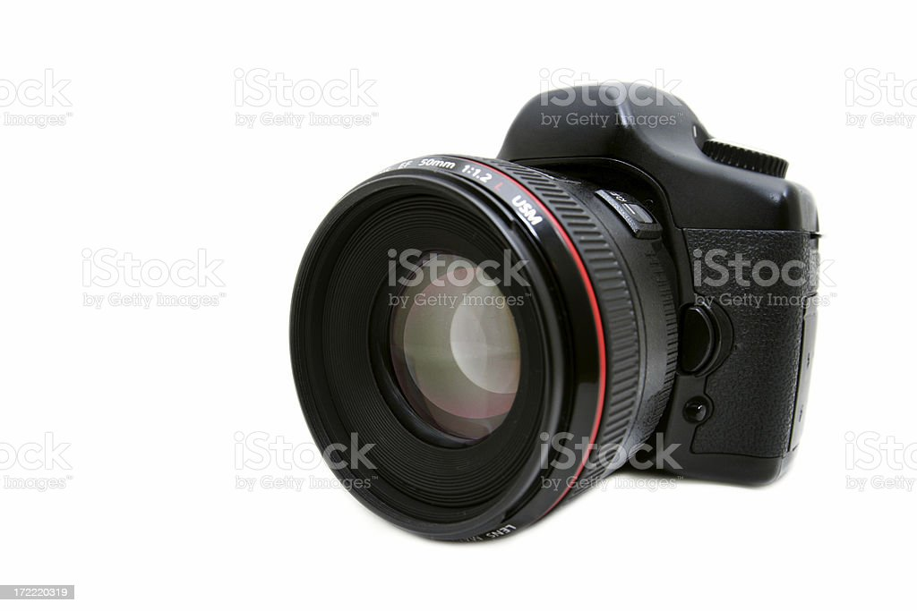 Digital SLR stock photo