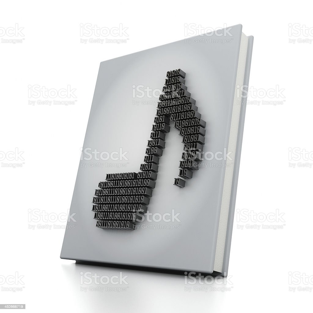 Digital tab book stock photo