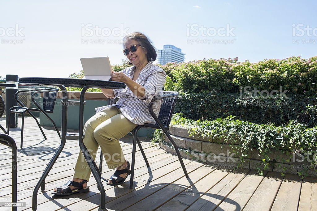 Digital Tablet Computer royalty-free stock photo
