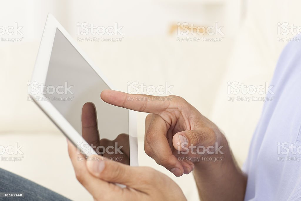 Digital tablet / e-reader. stock photo