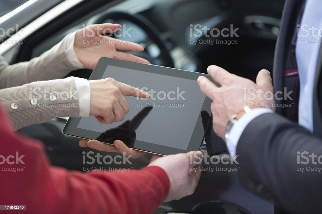 Digital tablet. royalty-free stock photo