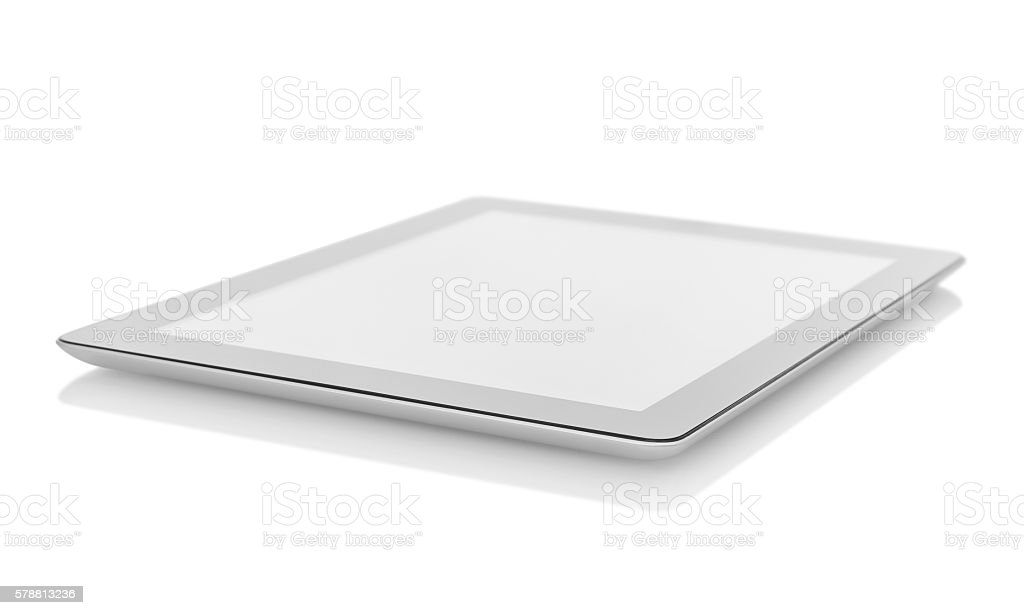 Digital tablet stock photo