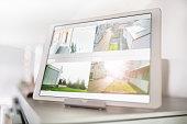 Digital Tablet Security Cameras Home Safety