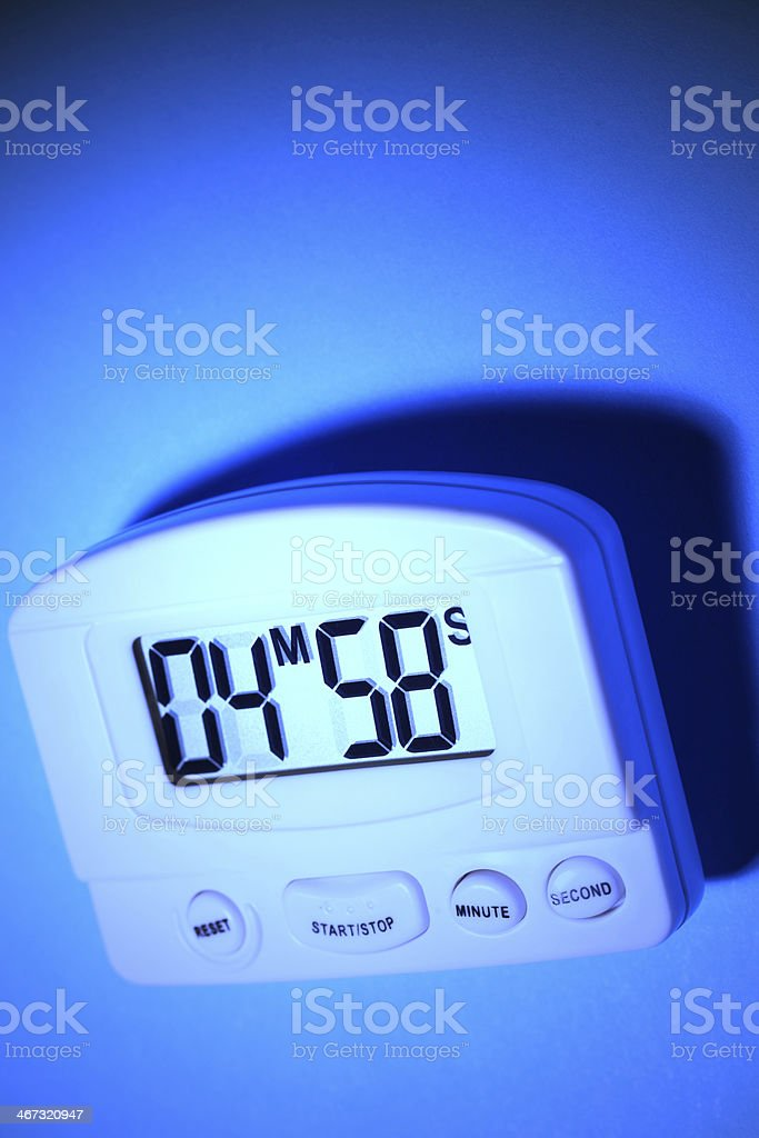 Digital Timer stock photo