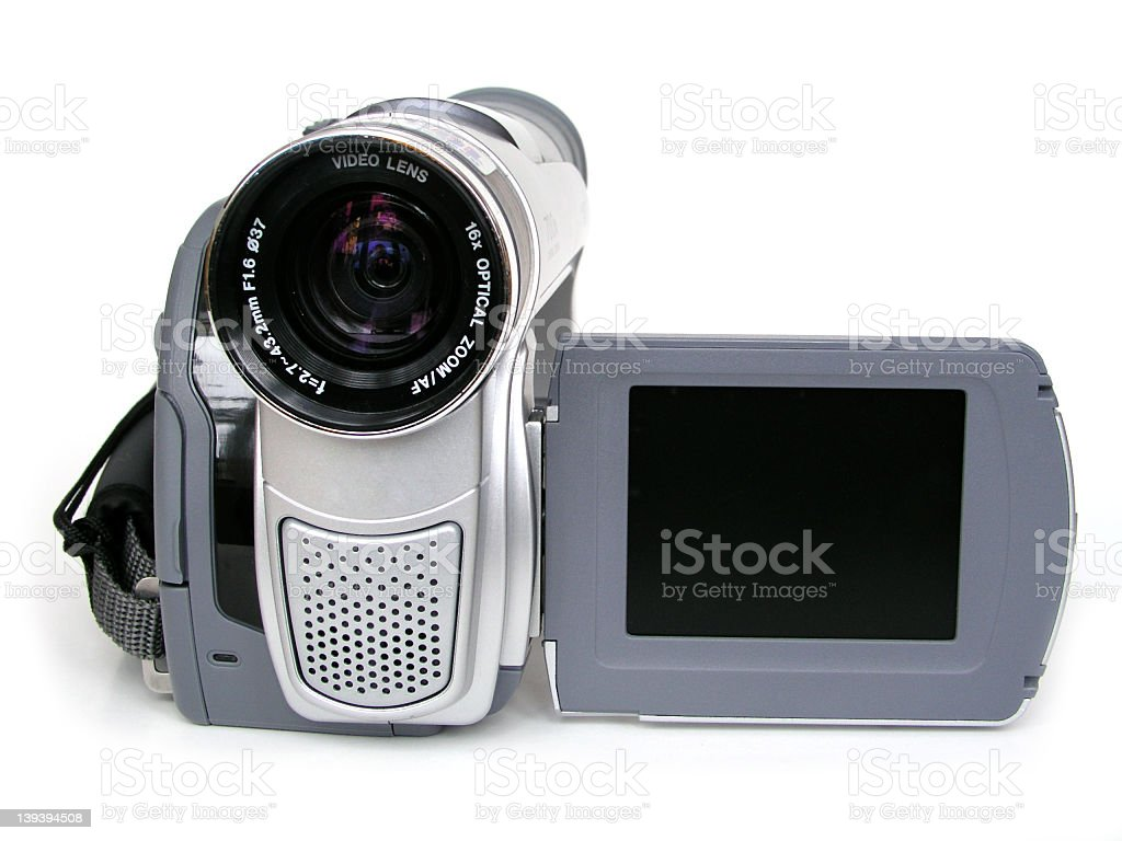 Digital Video Camera II stock photo