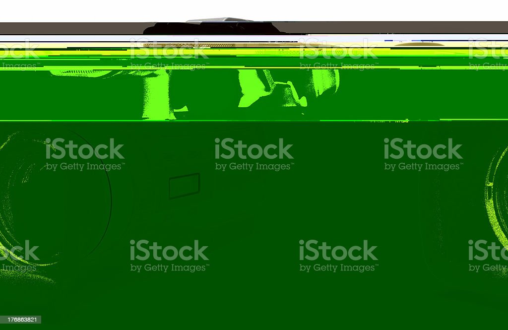 Digital Video Camera (Front-Side View) royalty-free stock photo