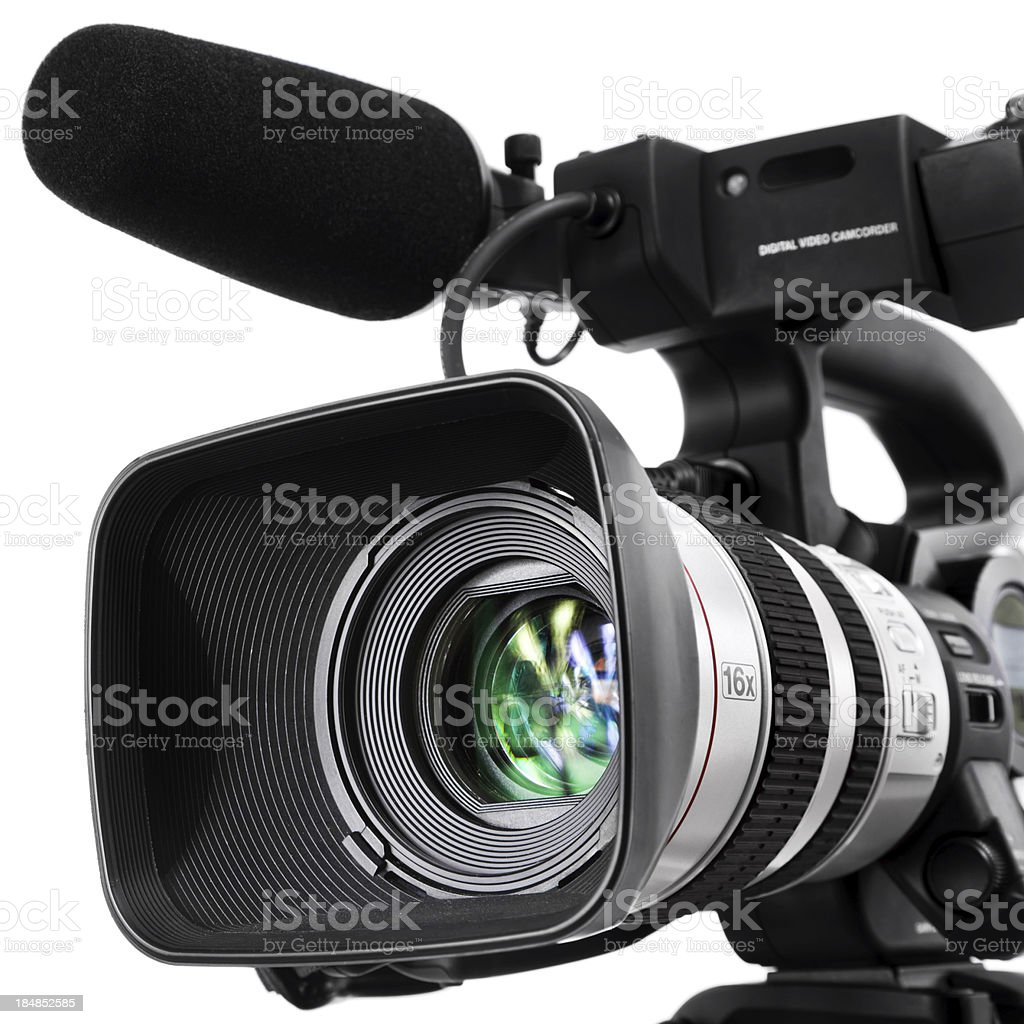 Digital Video Camera royalty-free stock photo