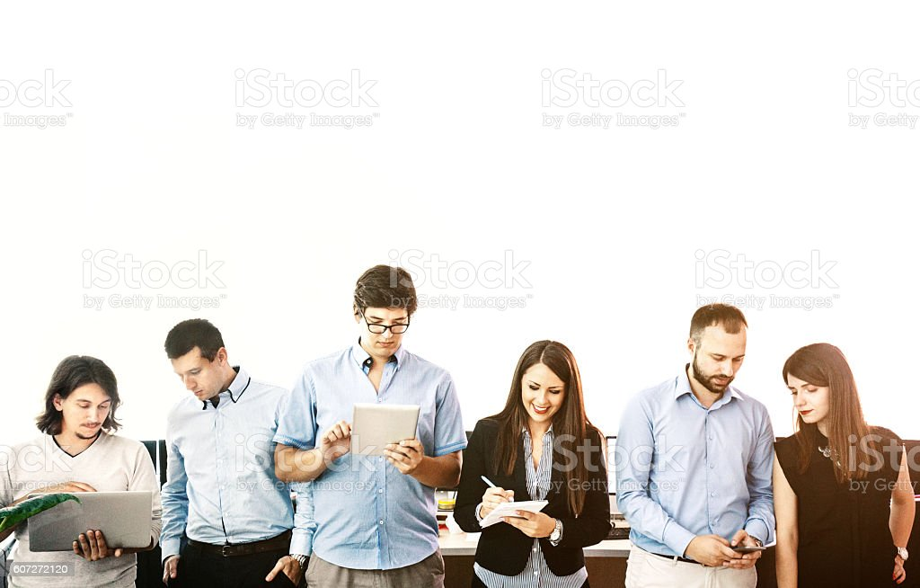 Digital era. stock photo