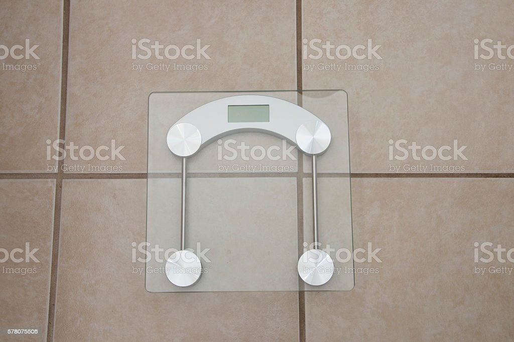 Digital Weight Scale stock photo