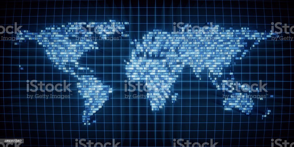 Digital World A03 stock photo