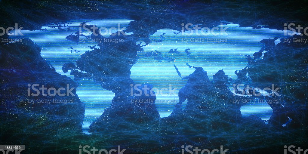 Digital World A05 stock photo