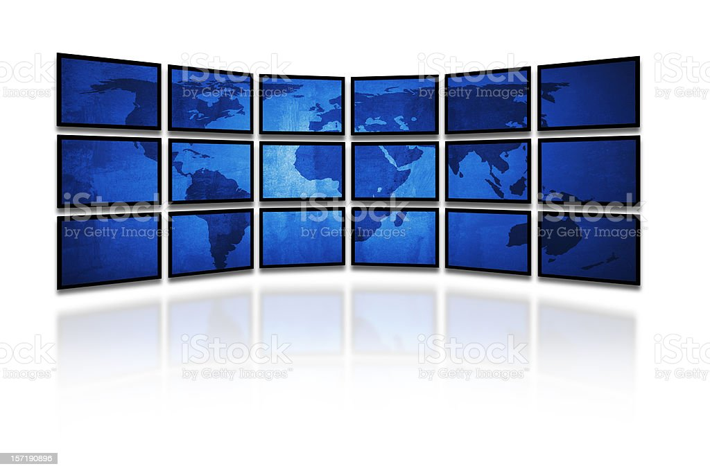 Digital world royalty-free stock photo