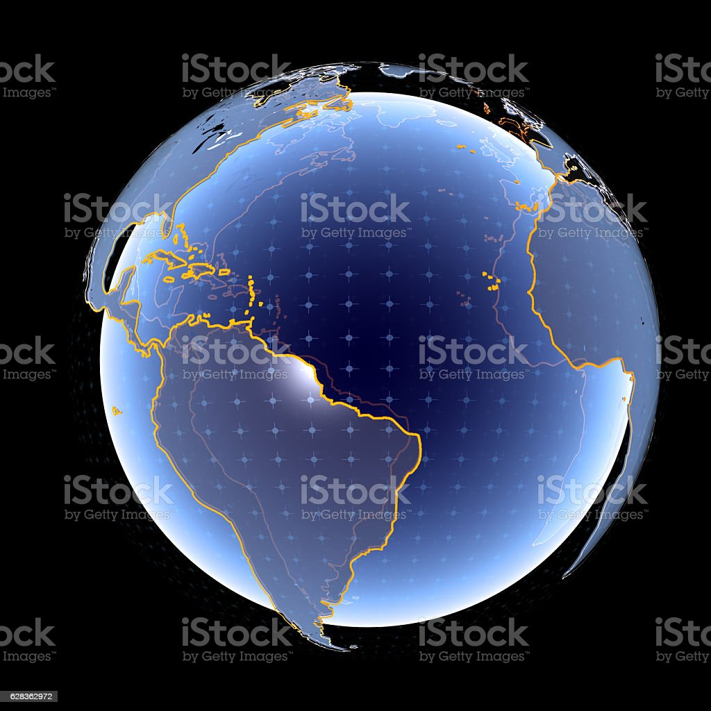 Digital World stock photo