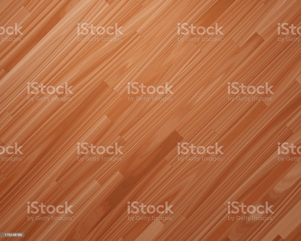 Digitally generated light brown wood boards royalty-free stock photo