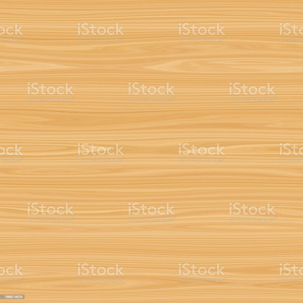 Digitally generated seamless blonde wood texture royalty-free stock photo