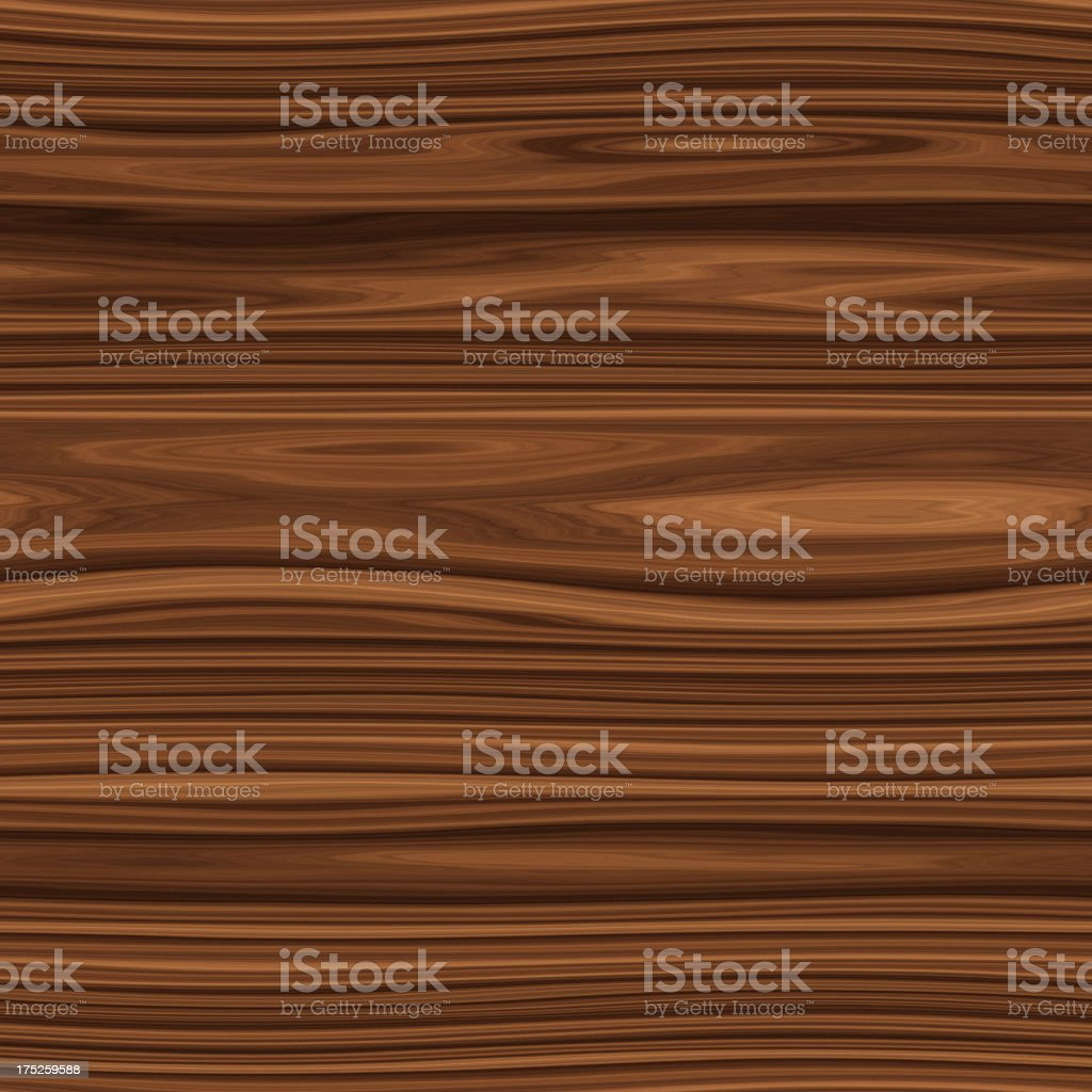 Digitally generated seamless dark brown wood texture royalty-free stock photo