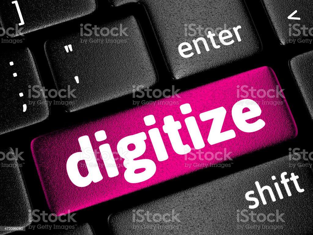 Digitize stock photo