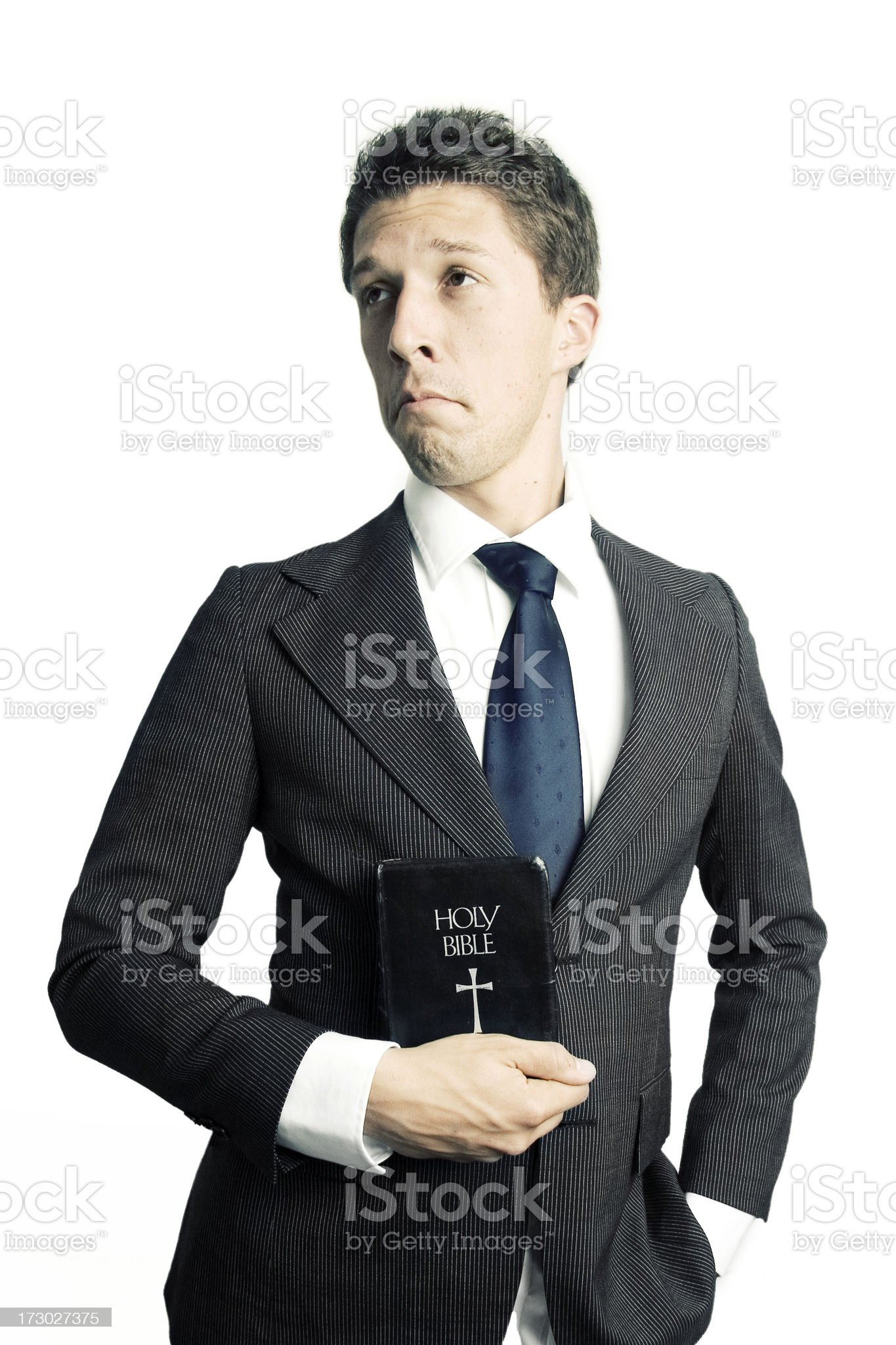 Dignified Minister royalty-free stock photo