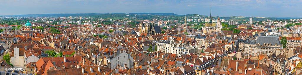 Dijon in a summer day stock photo