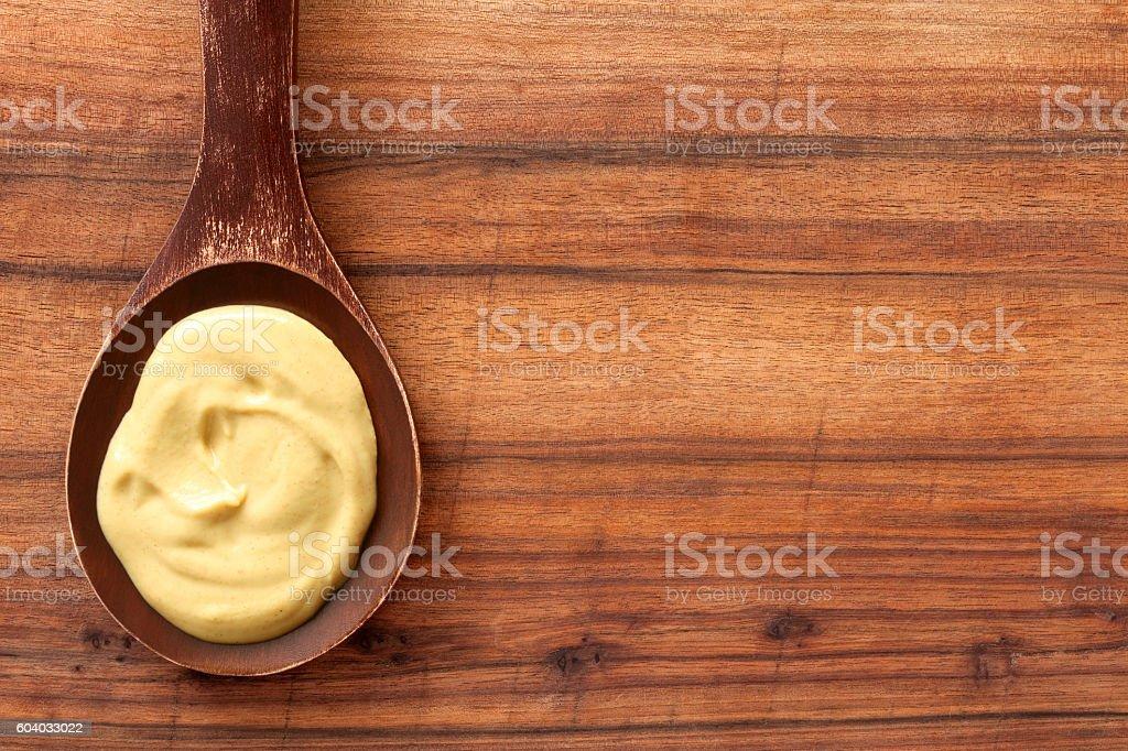Dijon mustard stock photo