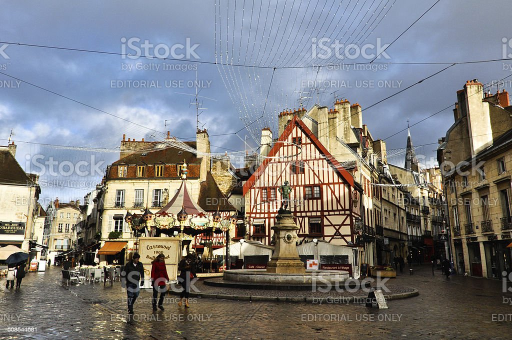 Dijon Old Town Urban View stock photo