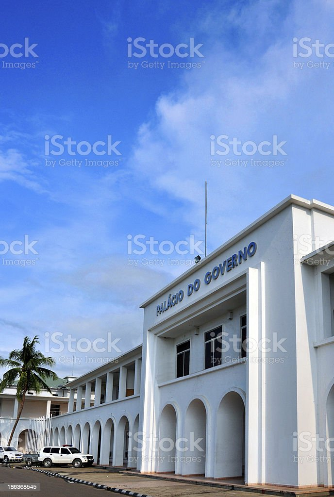 Dili, East Timor: Government Palace stock photo