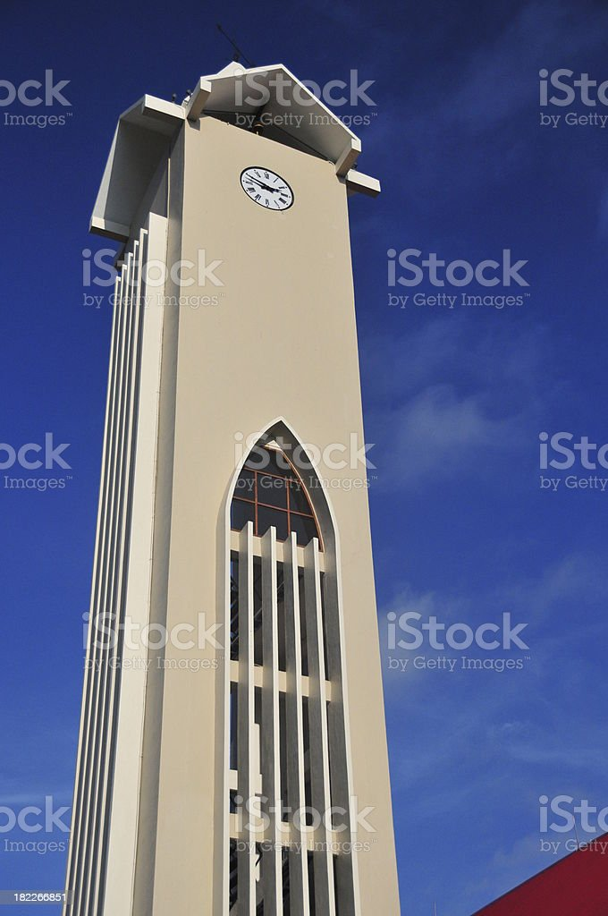 Dili, East Timor: Immaculate Conception Cathedral stock photo