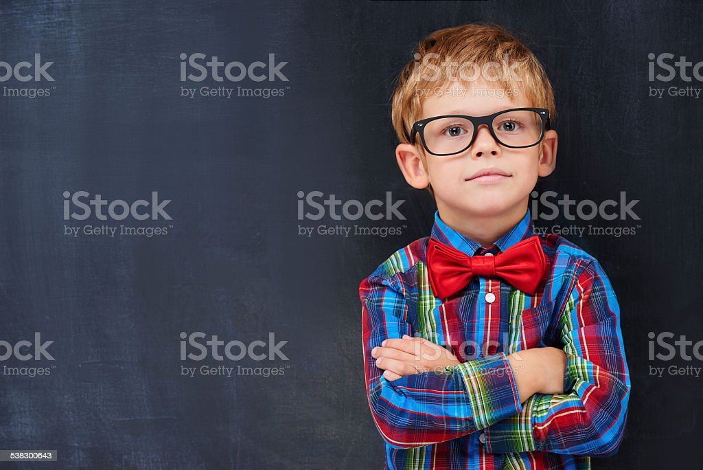 Diligent student concept stock photo