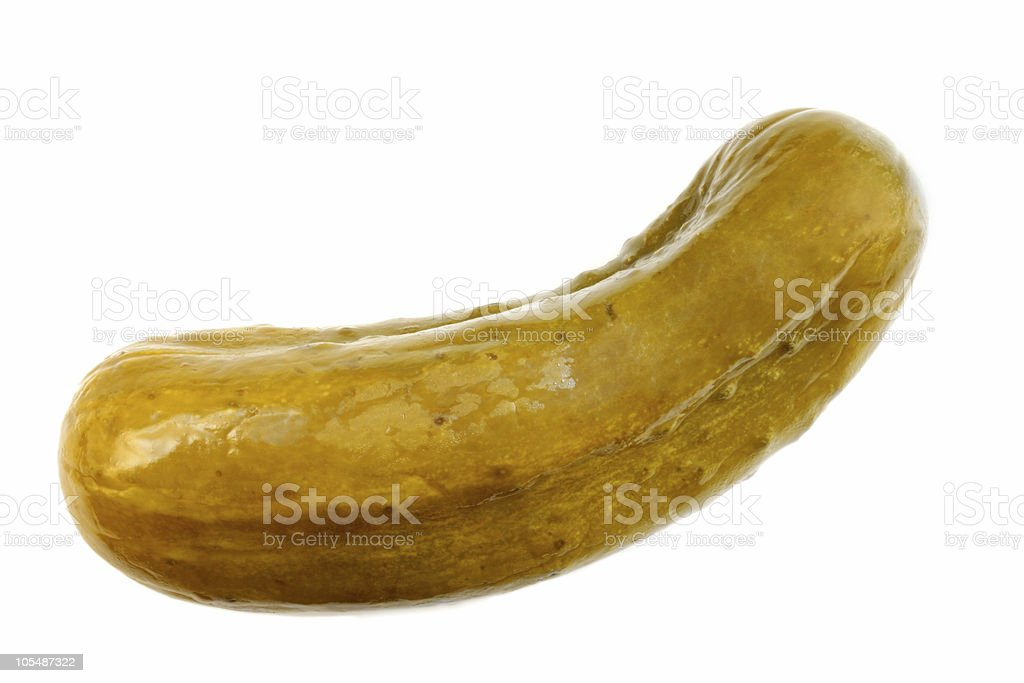Dill Pickle stock photo