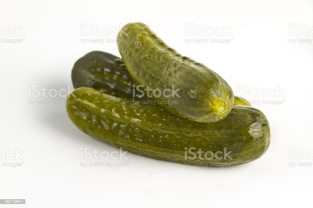 Dill Pickles royalty-free stock photo