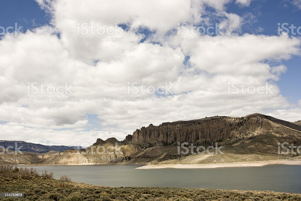 Dillon Pinnacles, Colorado stock photo
