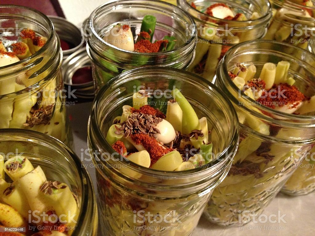 Dilly Beans stock photo
