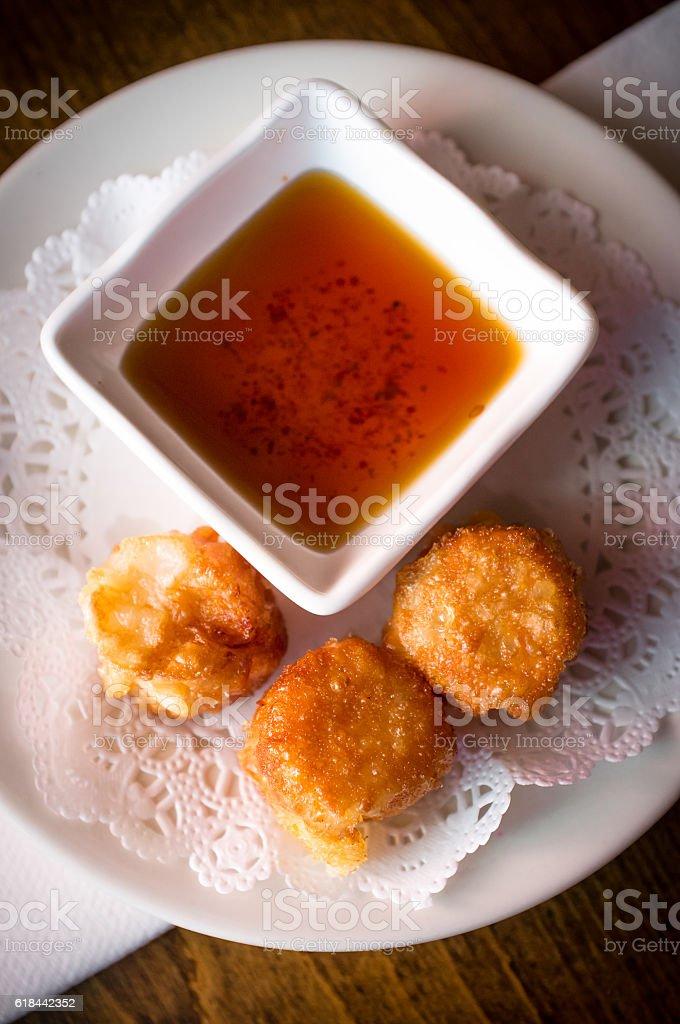 Dim Sum Shumai Dumplings stock photo