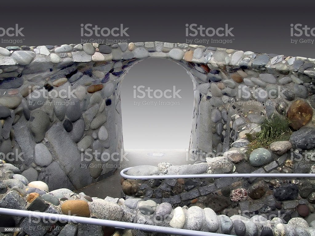 Dimensional Gate royalty-free stock photo