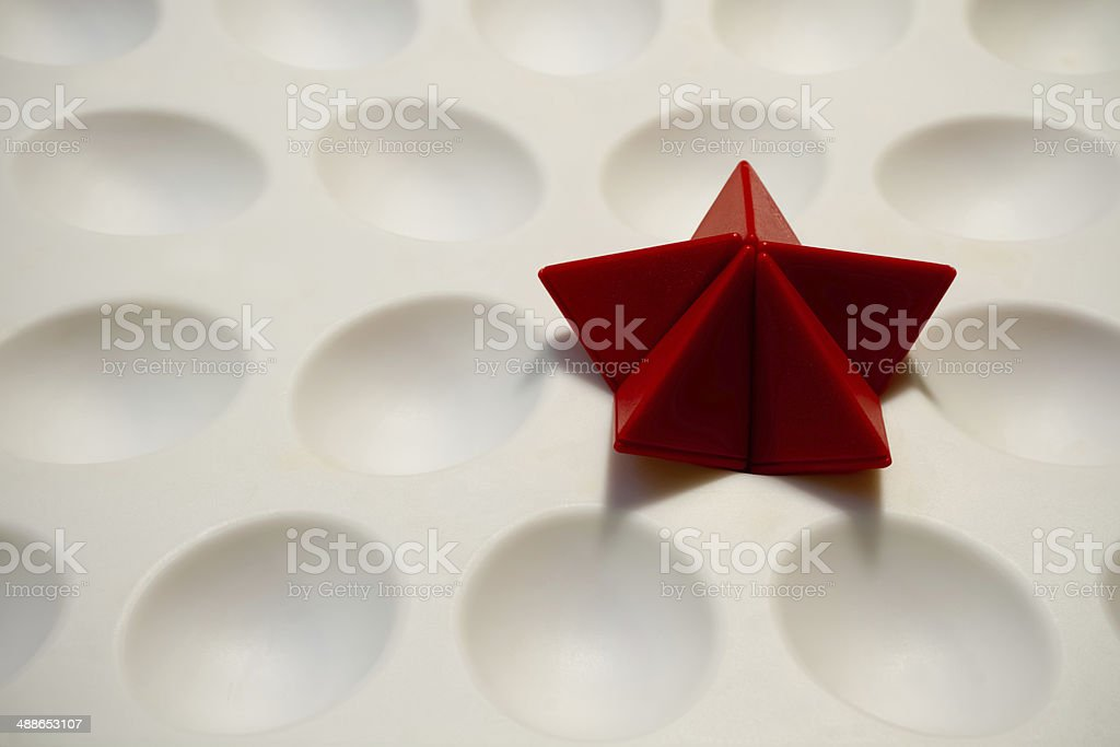 Dimples and Stars royalty-free stock photo