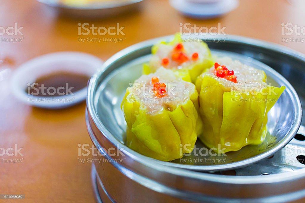Dimsum chinese food stock photo