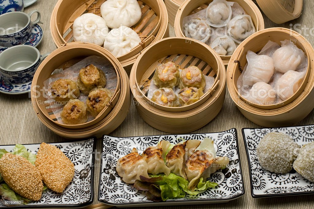 dimsum mix royalty-free stock photo