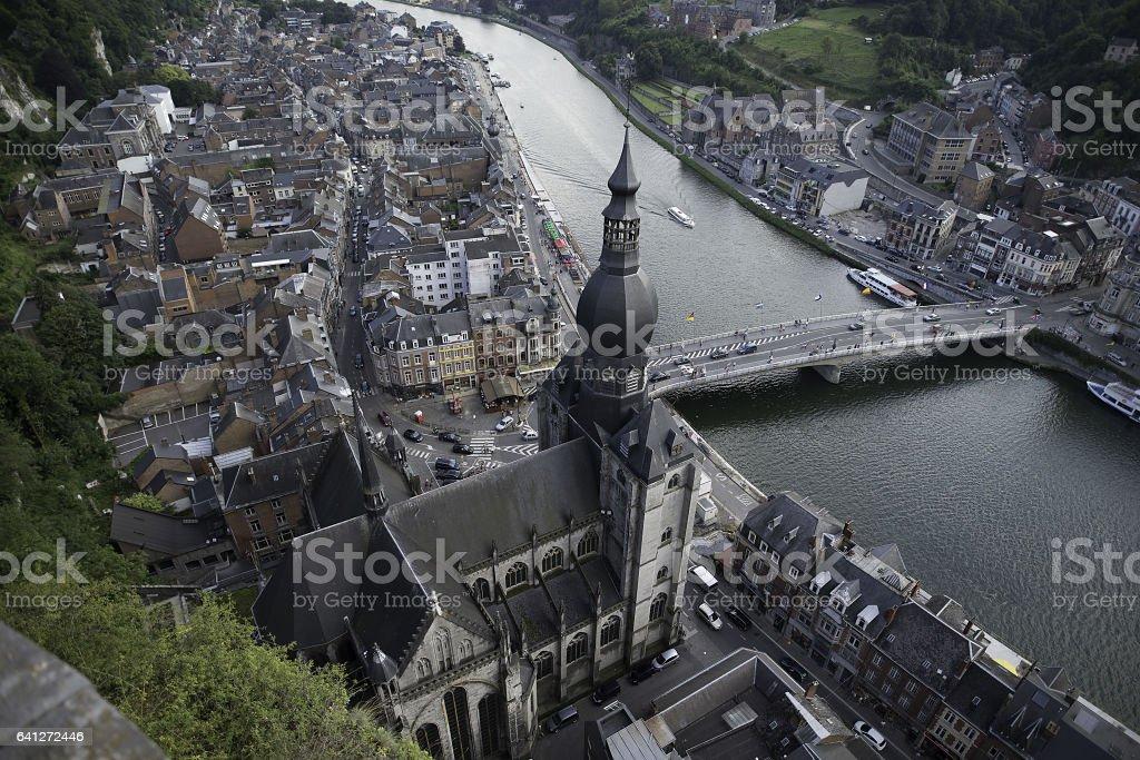 Dinant Belgien, August 2016 stock photo