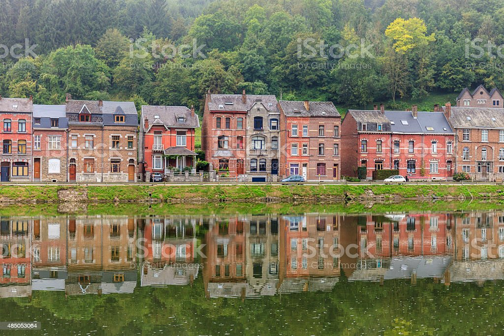 Dinant, Belgium stock photo