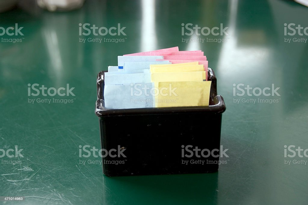 Diner: Artificial Sweetener Caddy stock photo