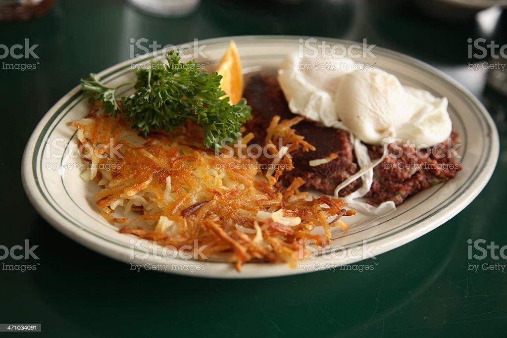 Diner: Breakfast stock photo