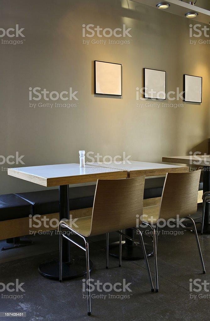 Diner Interior royalty-free stock photo