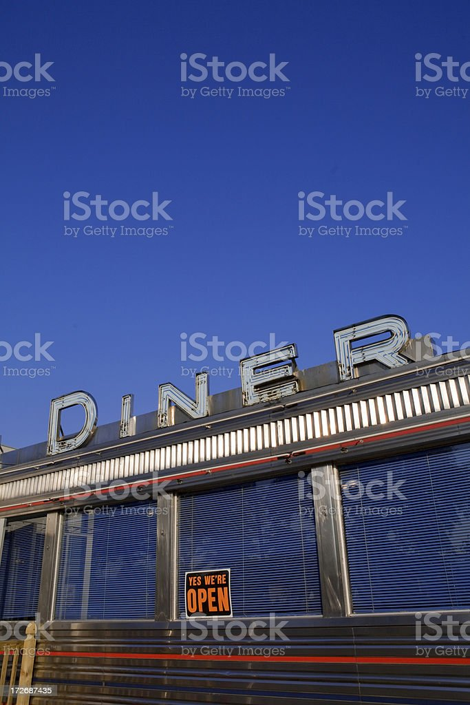 Diner royalty-free stock photo
