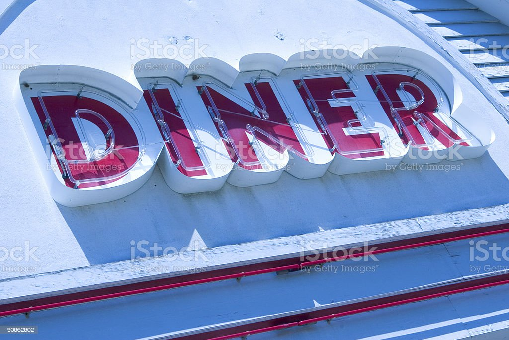 Diner! royalty-free stock photo