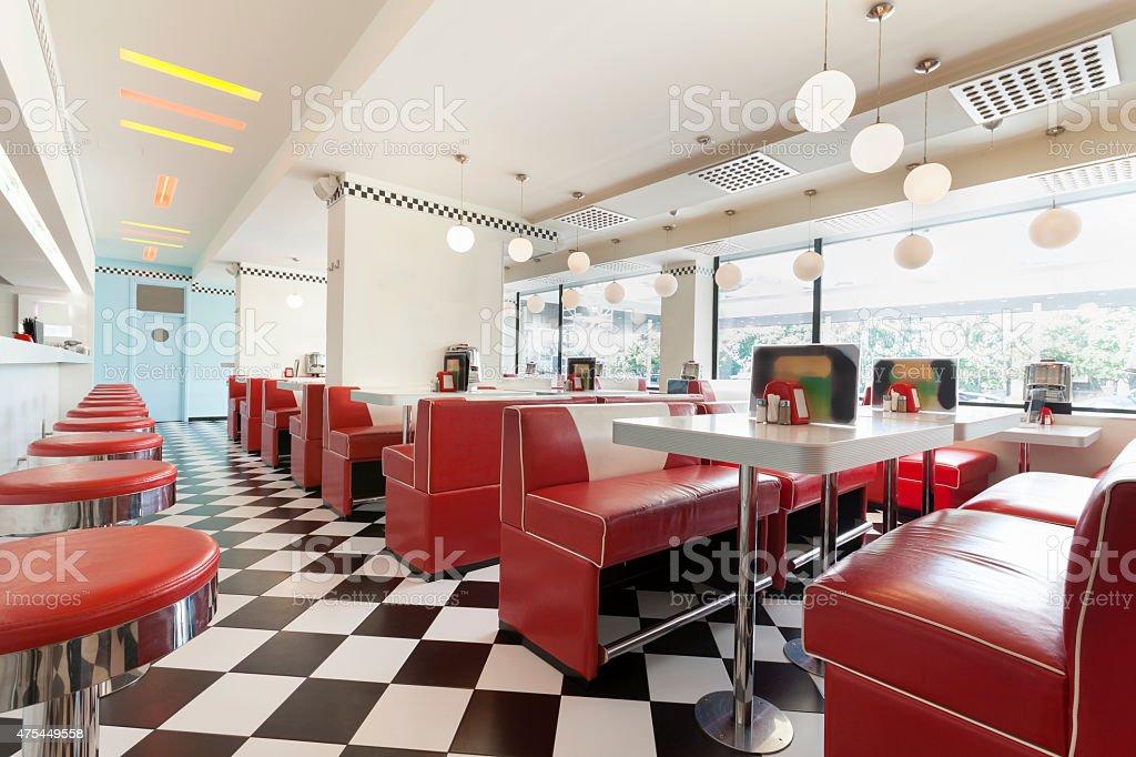 diner restaurant stock photo