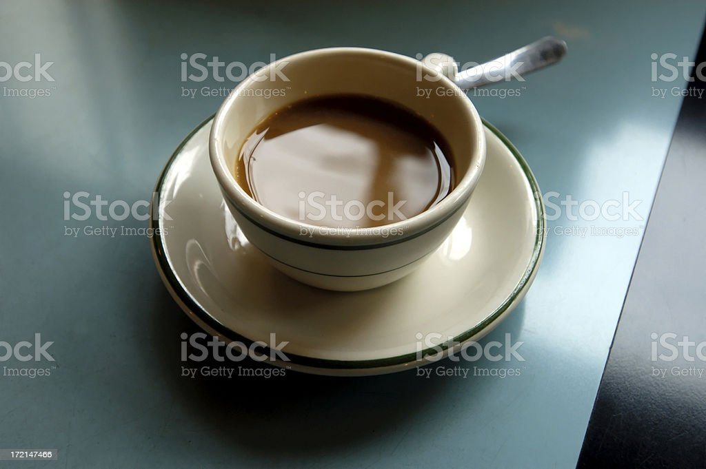 diner-coffee with windows royalty-free stock photo